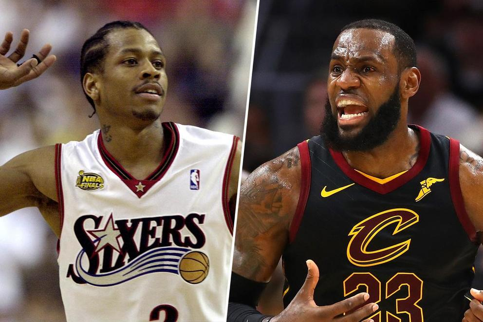 Best 1-on-1 NBA player ever: Allen Iverson or LeBron James?