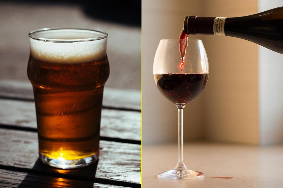 Would you rather drink beer or wine?