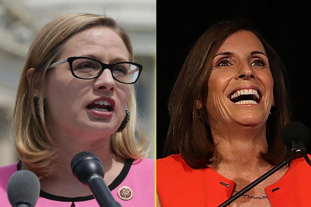 Who will win Arizona's Senate seat: Kyrsten Sinema or Martha McSally?