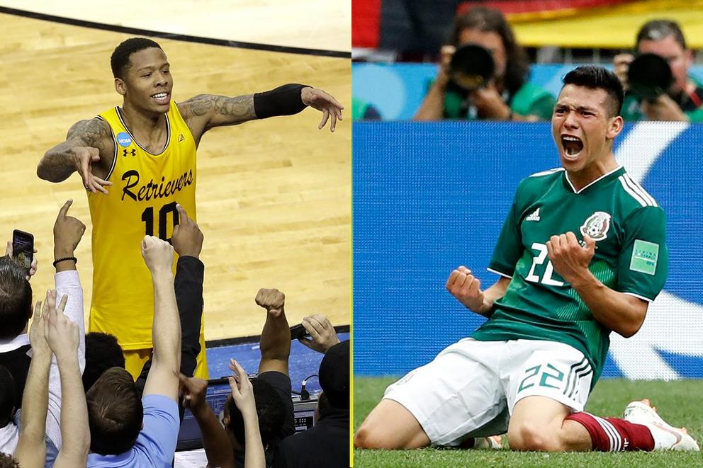 Best sports upset of 2018 so far: UMBC or Mexico?