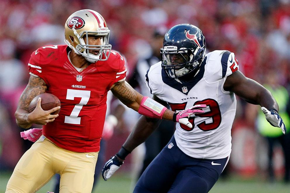 Should the Houston Texans sign Colin Kaepernick?