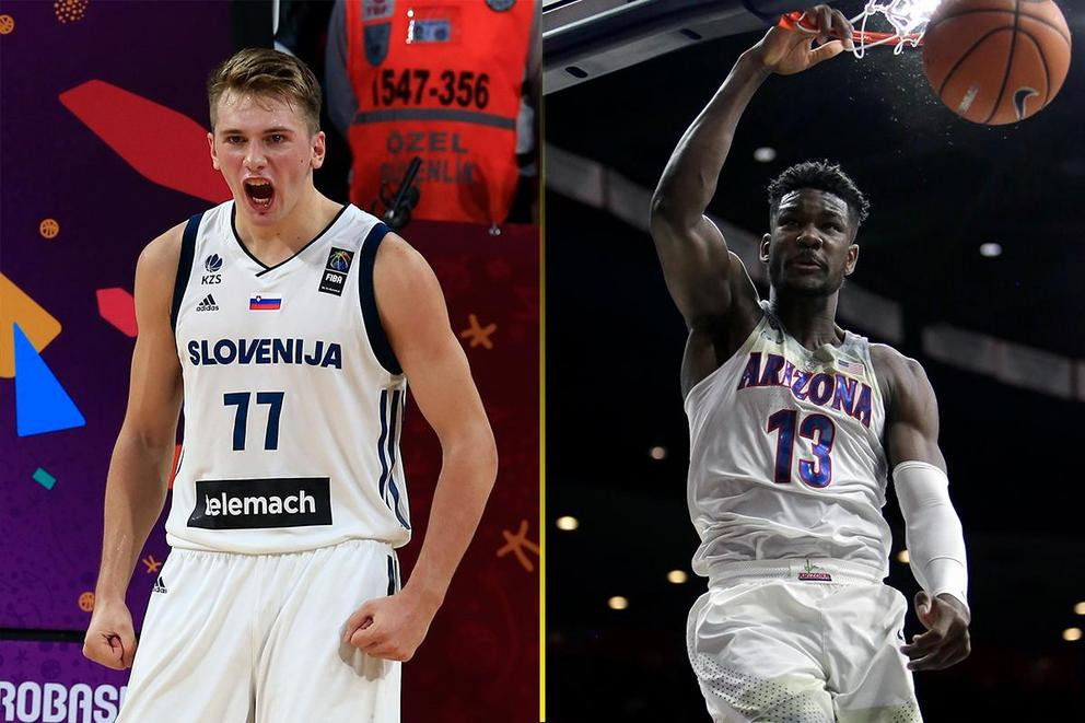 Who should the Phoenix Suns take with the No. 1 overall pick: Luka Doncic or DeAndre Ayton?