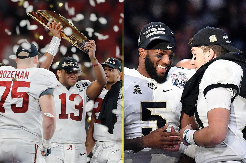 Who's the real NCAA football national champion: Alabama or UCF?