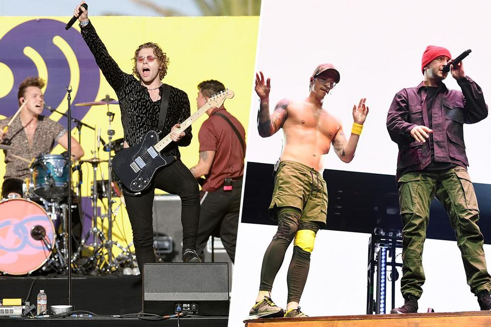 2019 iHeartRadio Best Duo/Group of the Year: 5 Seconds of Summer or Twenty One Pilots?