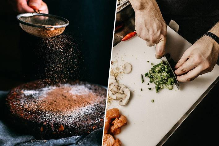 Which is more fun: baking or cooking?