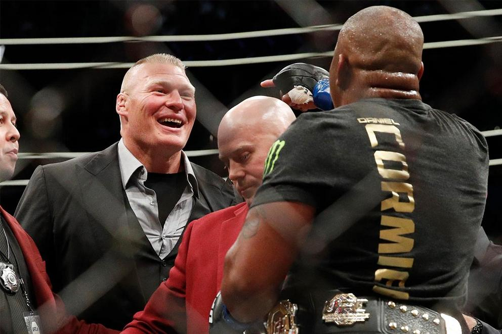 Who would win a fight: Brock Lesnar vs. Daniel Cormier?
