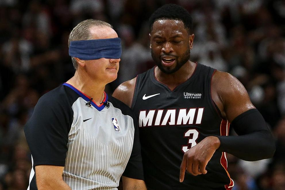 Who's more fit to call an NBA game: Referees or 'Bird Box' survivors?