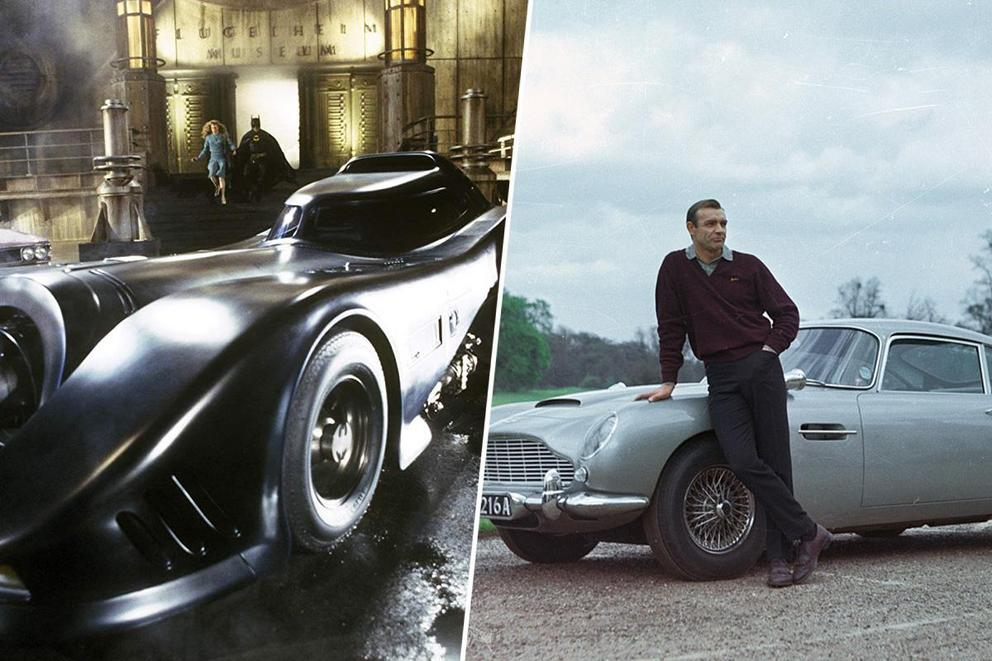 Which would you rather drive: the Batmobile or James Bond's Aston Martin?