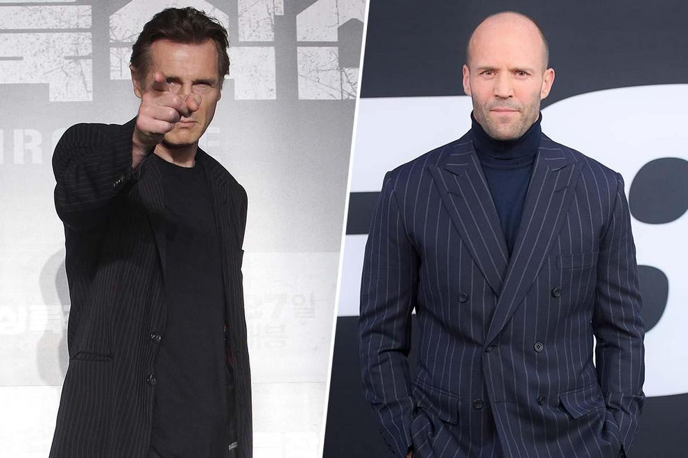 Which action star would you want to save you IRL: Liam Neeson or Jason Statham?