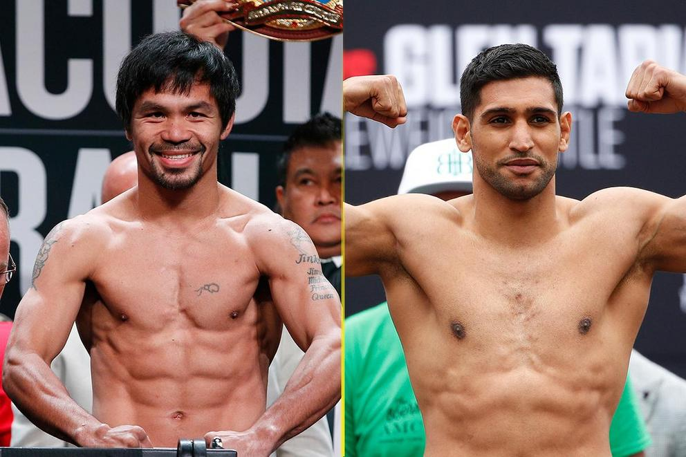 Who will win in a boxing match: Manny Pacquiao or Amir Khan?