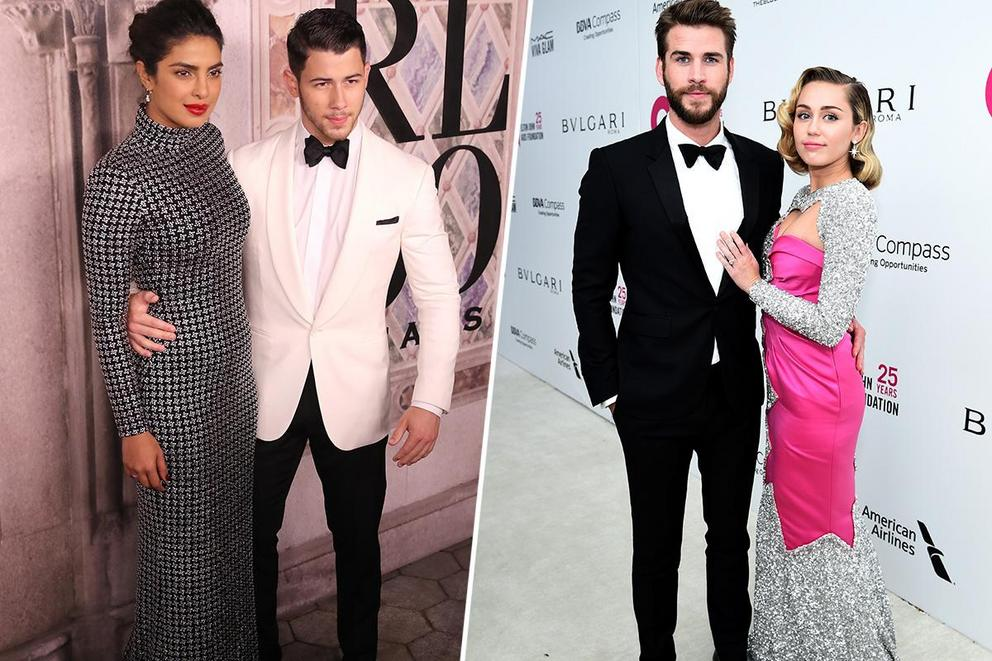 Favorite newlywed couple: Priyanka and Nick, or Miley and Liam?
