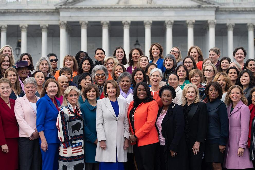 Should President Trump take credit for the number of women in Congress?