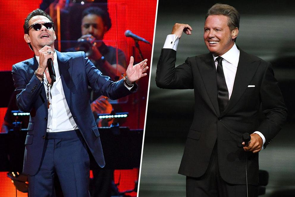 Favorite crossover Latin music icon: Marc Anthony or Luis Miguel?