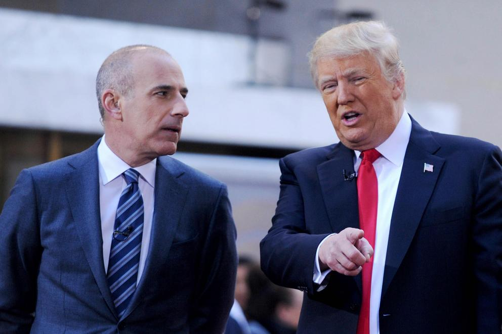Is Matt Lauer a good choice as moderator for a Clinton-Trump forum?