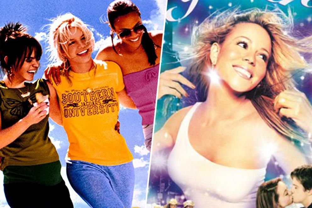 Favorite guilty pleasure movie of the early aughts: 'Crossroads' or 'Glitter'?