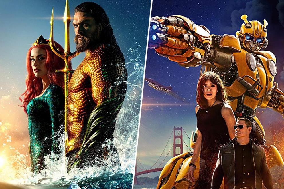 Best new action movie: 'Aquaman' or 'Bumblebee'?