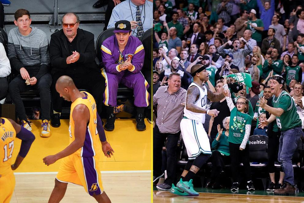 Better fans: Los Angeles Lakers or Boston Celtics?