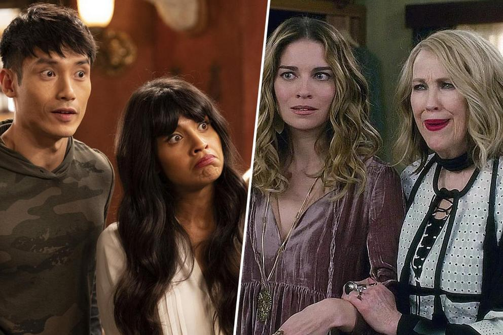 Which comedy do you love more: 'The Good Place' or 'Schitt's Creek'?