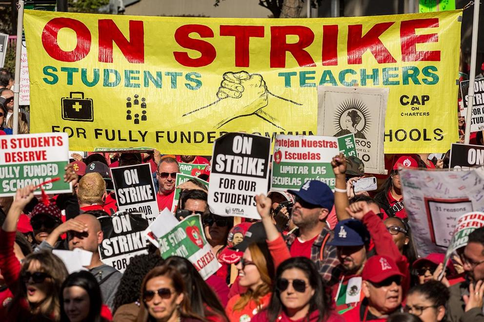 Should teachers be allowed to go on strike?
