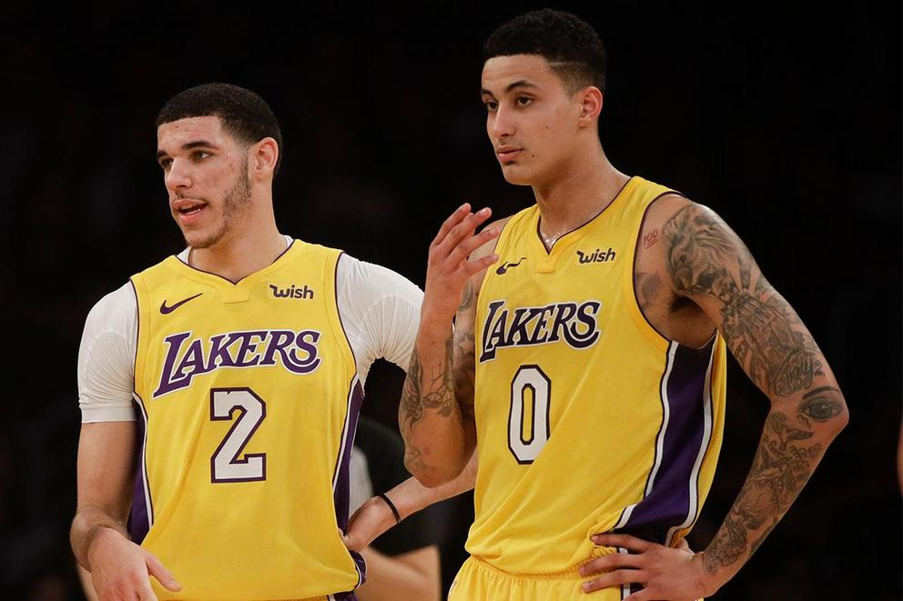 Do Kyle Kuzma and Lonzo Ball actually hate each other?