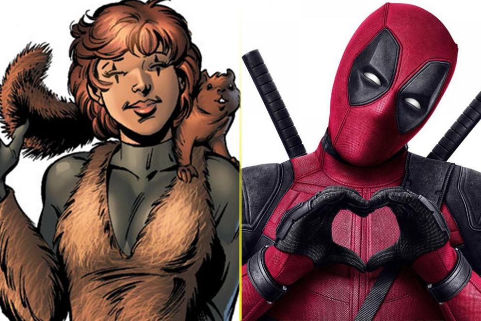 Who's more badass: Squirrel Girl or Deadpool?