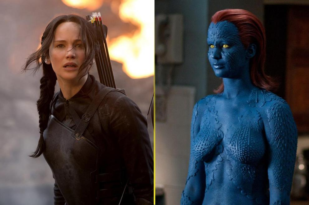 Jennifer Lawrence's best geek role: Katniss Everdeen or Mystique?