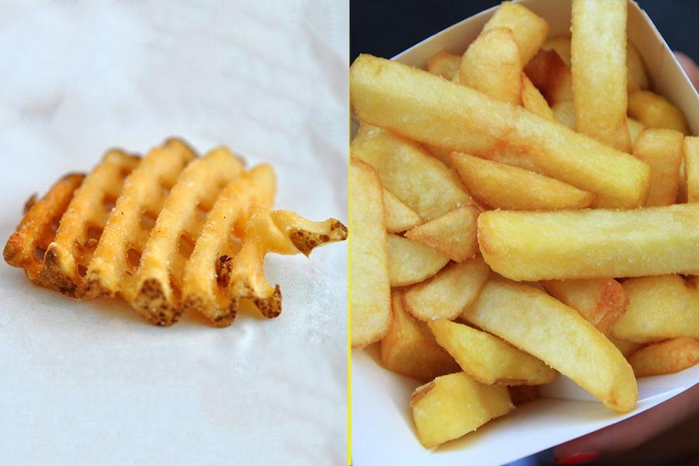 Which fries are the best: Waffle fries or steak fries?