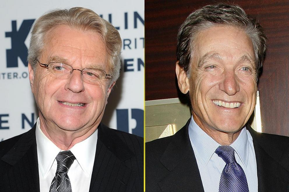 Favorite guilty pleasure: 'The Jerry Springer Show' or 'Maury'?