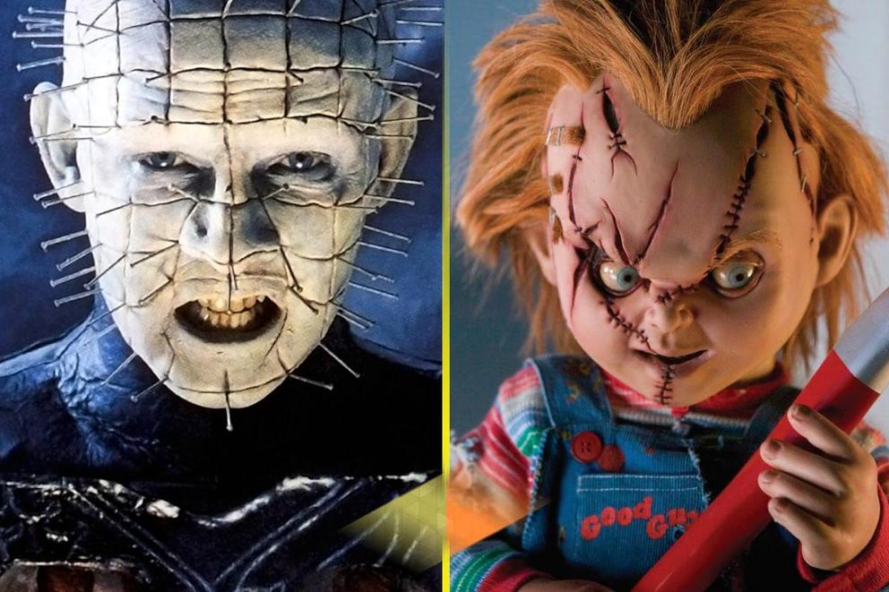 Most blood-curdling horror icon: Pinhead or Chucky?
