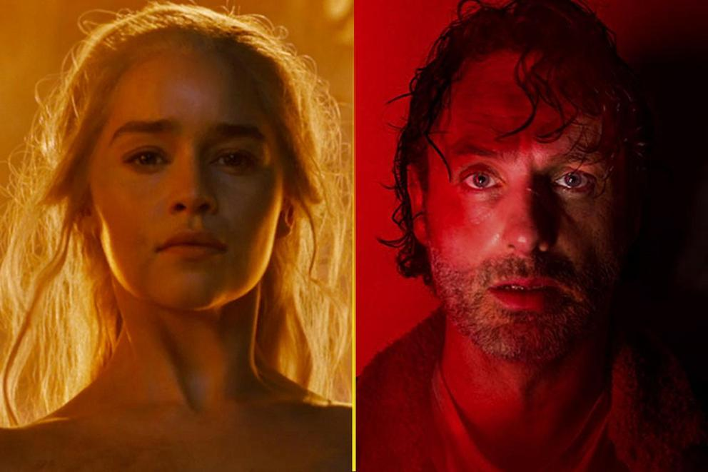 Which show are you more excited to see return: 'Game of Thrones' or 'The Walking Dead'?