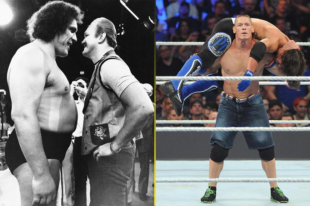 Who is the greatest wrestler of all time: Andre the Giant or John Cena?