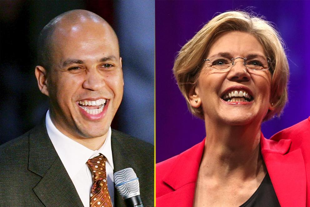 Who should Democrats nominate in 2020: Cory Booker or Elizabeth Warren?