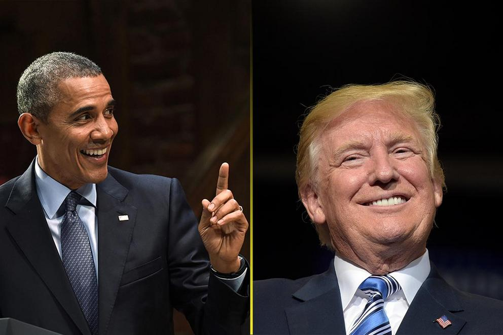 Who's responsible for the strong economy: Barack Obama or Donald Trump?