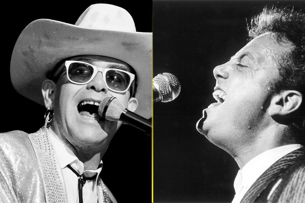 Who's the real piano man: Billy Joel or Elton John?