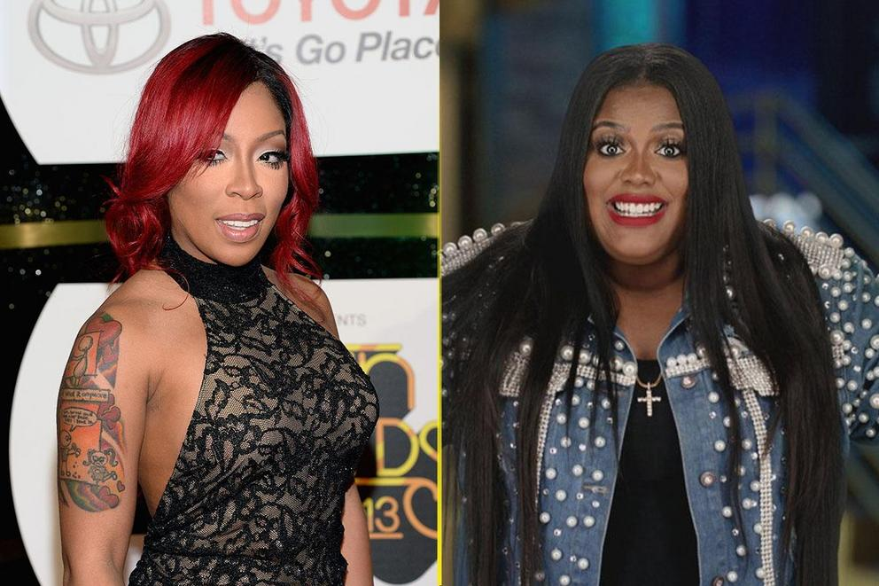 Whose side are you on: K. Michelle or Paris Phillips?