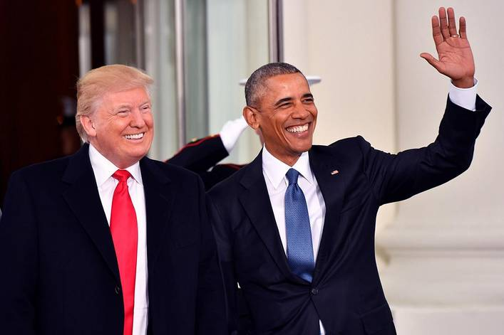 Who's responsible for bringing unemployment down: Obama or Trump?