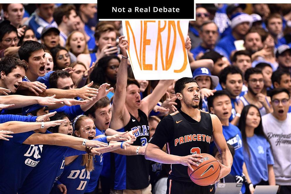 What's the most patriotic part of college sports: Berating teenagers or exploiting them for profit?