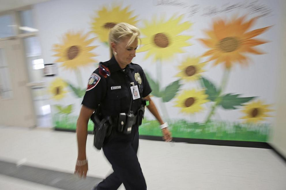 Do police officers belong in public schools?