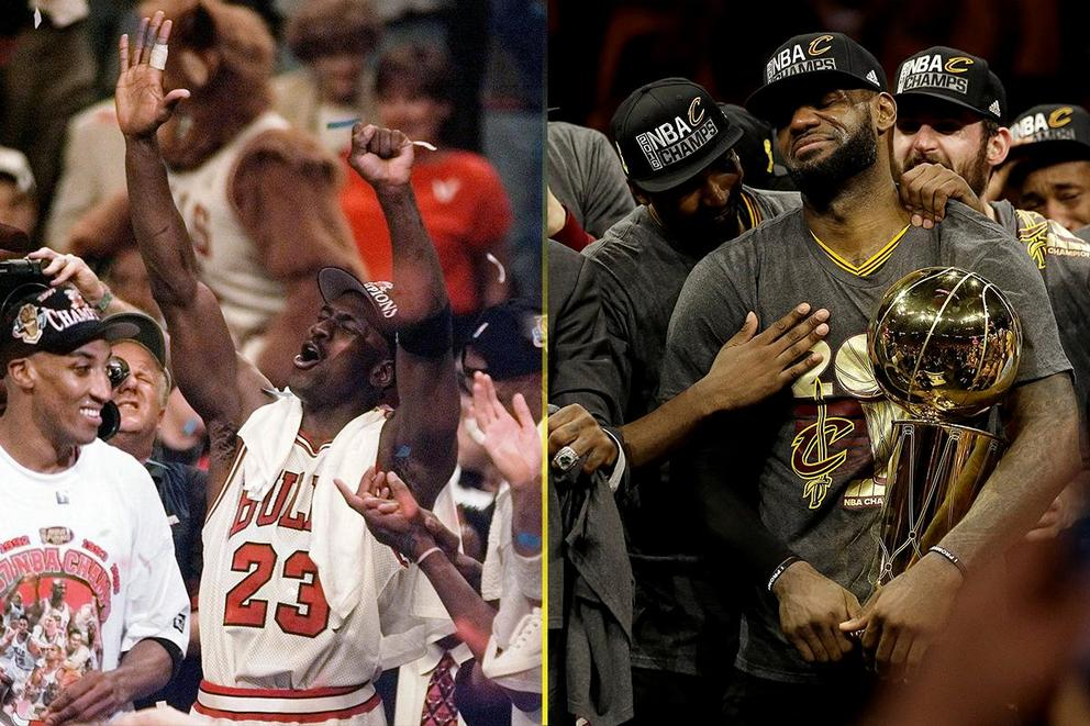 Michael Jordan vs. LeBron James: Who is the NBA's true GOAT?