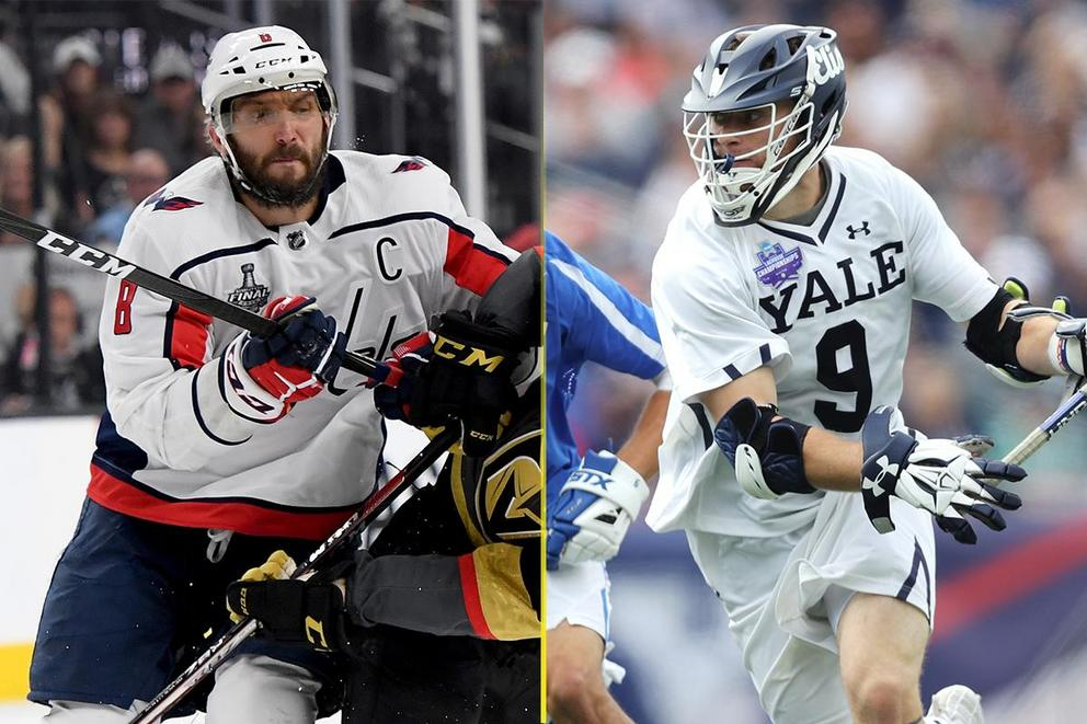 What is America's favorite pastime: Hockey or lacrosse?