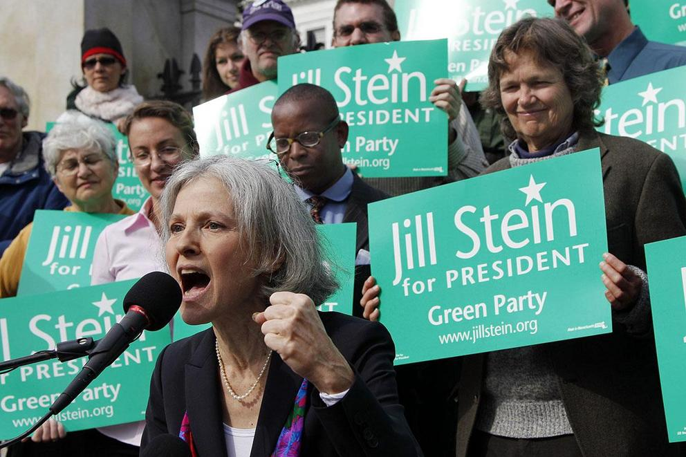 Can the Green Party's Jill Stein capture Bernie's supporters?