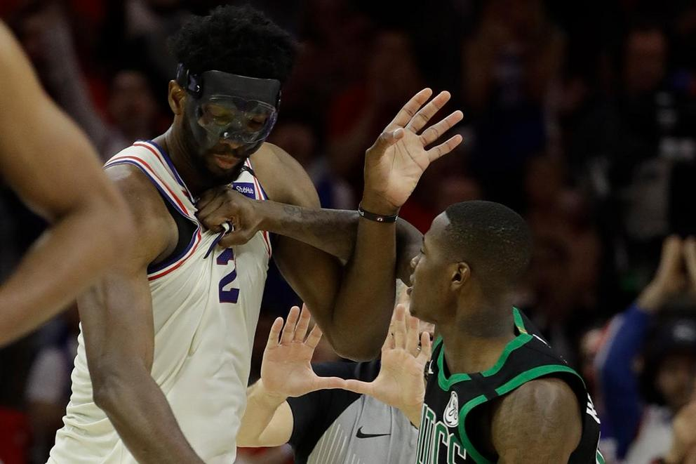 Who would win in a fight: Joel Embiid vs. Terry Rozier?