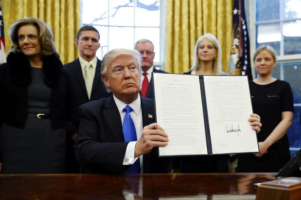 Is President Trump's immigration ban legal?