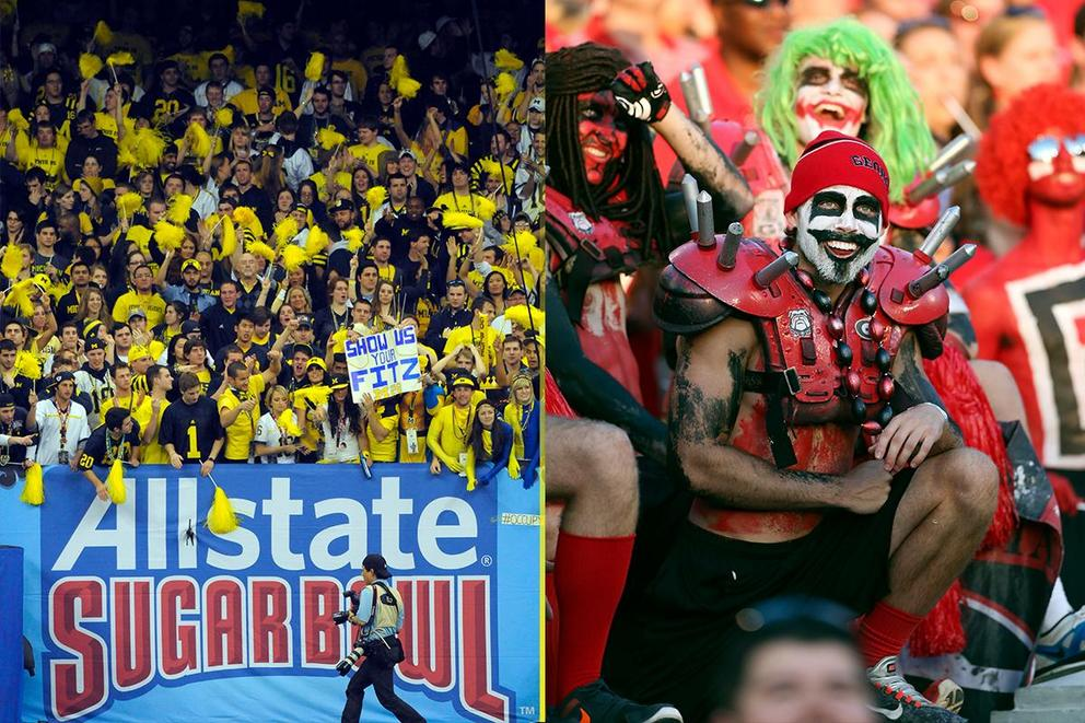 NCAA's Best College Fan Base: Michigan or Georgia?