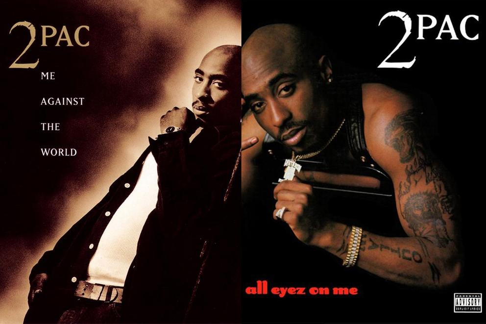 Which is Tupac's best album: 'Me Against the World' or 'All Eyez On Me'?