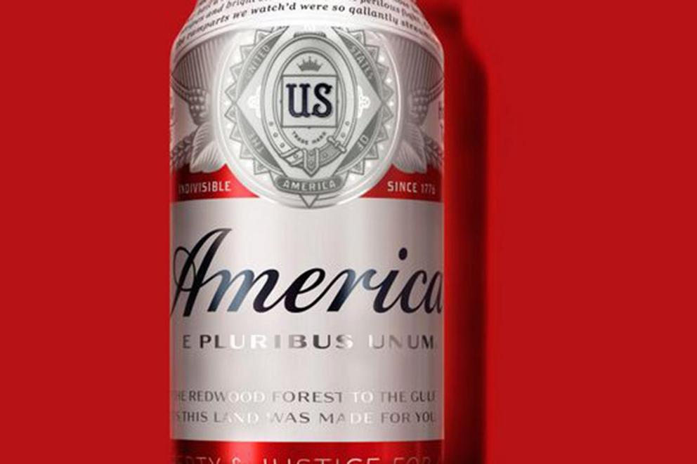 "Budweiser is calling itself ""America"" this summer"