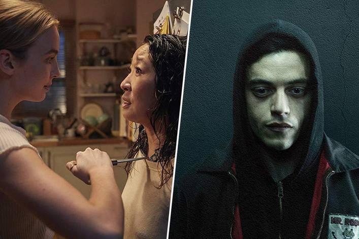 Favorite prestige TV show: 'Killing Eve' or 'Mr. Robot'?