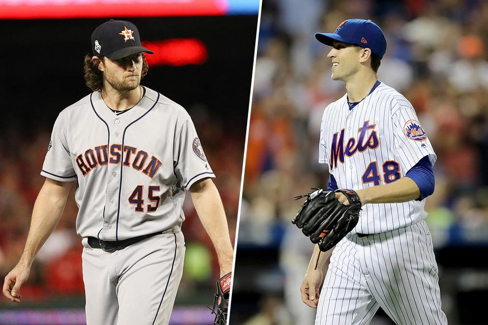 Which ace would you rather have: Gerrit Cole or Jacob deGrom?