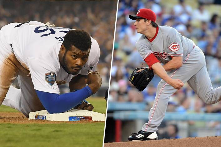 who won the los angeles dodgers cincinnati reds trade