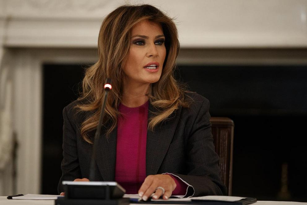 Does Melania Trump actually care about cyberbullying?